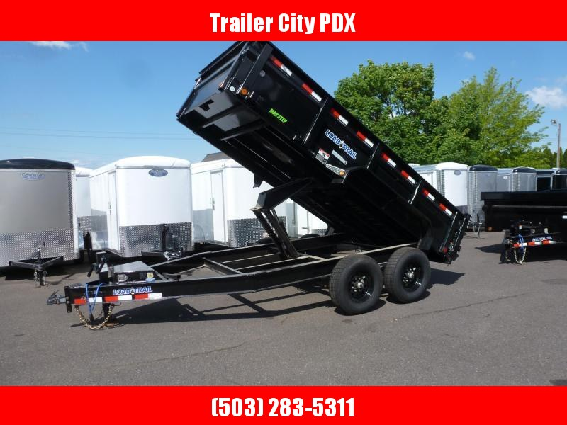"""Load Trail 83"""" X 14 14K DUMP 2FT SIDES Dump Trailer"""