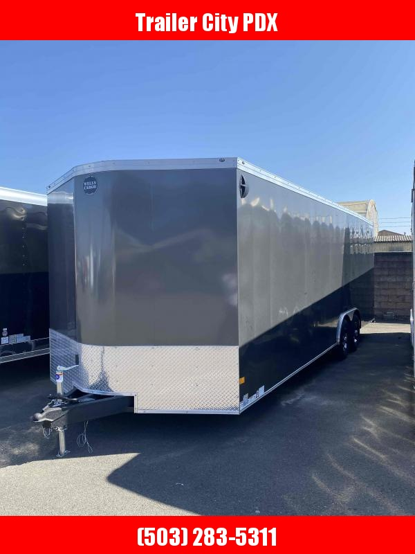 2021 Wells Cargo 8.5X24 10K RAMP Enclosed Cargo Trailer