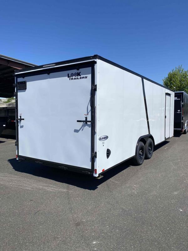 8.5 X 24 10K RAMP Enclosed Cargo Trailer