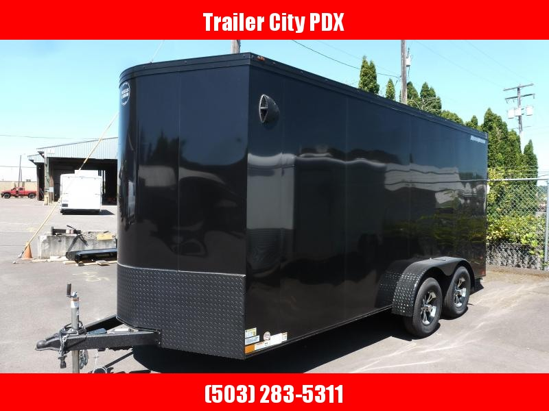 2020 Wells Cargo 7 X 16 7K ROAD FORCE RAMP Enclosed Cargo Trailer