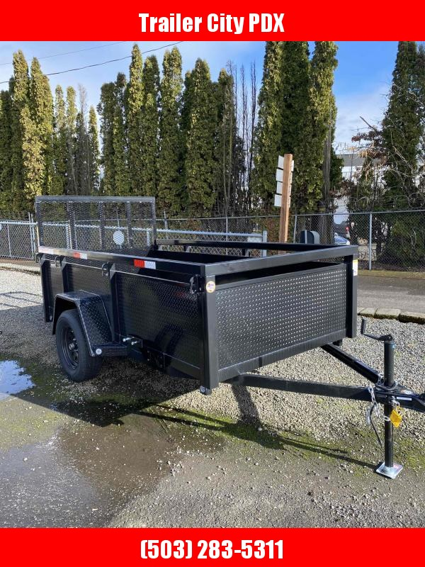 2021 Fabform 5x10 3k Ramp Utility Trailer