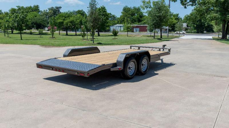 "2021 MAXXD 7 X 18 10K- C5X - 5"" Channel Car Hauler Flatbed Trailer"