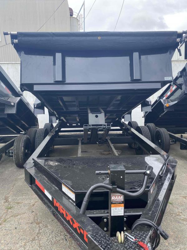 2021 MAXXD DJX - 7 X 14 15K I-Beam Dump Trailer Dump Trailer