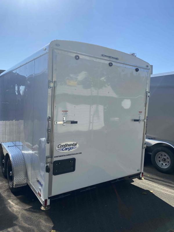 2022 Continental Cargo 7 X 14 7K TALL RAMP Enclosed Cargo Trailer