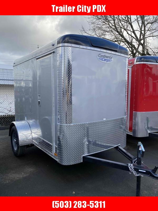 2021 Continental Cargo 5X8 3K RAMP SUPER TALL DIAMOND ICE Enclosed Cargo Trailer