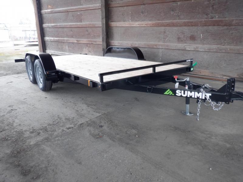 "2020 Summit 7 X 16 7K TILTBED ALPNE 4"" Utility Trailer"