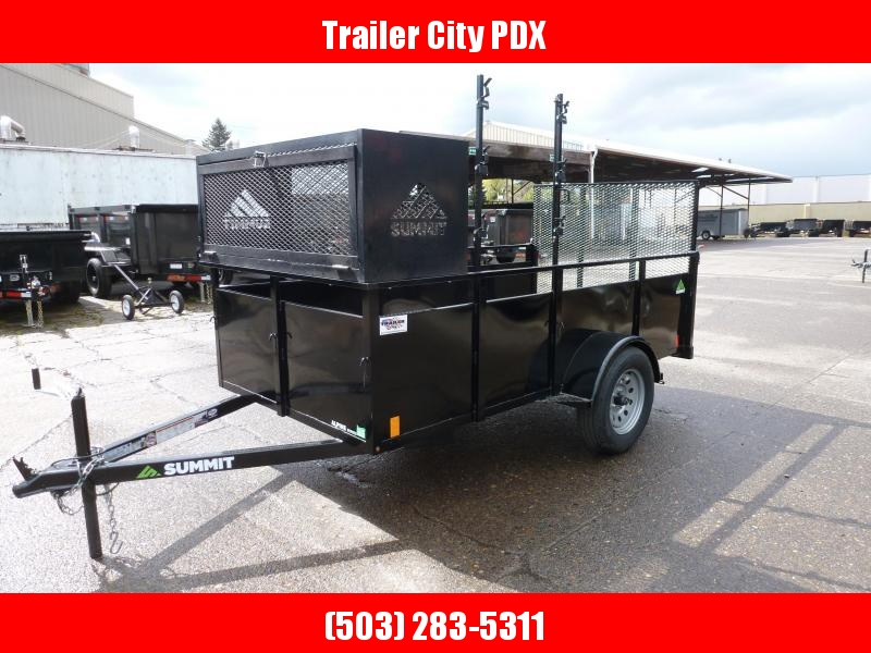 2020 Summit 5 X 10 3K ALPINE UTILITY Utility Trailer