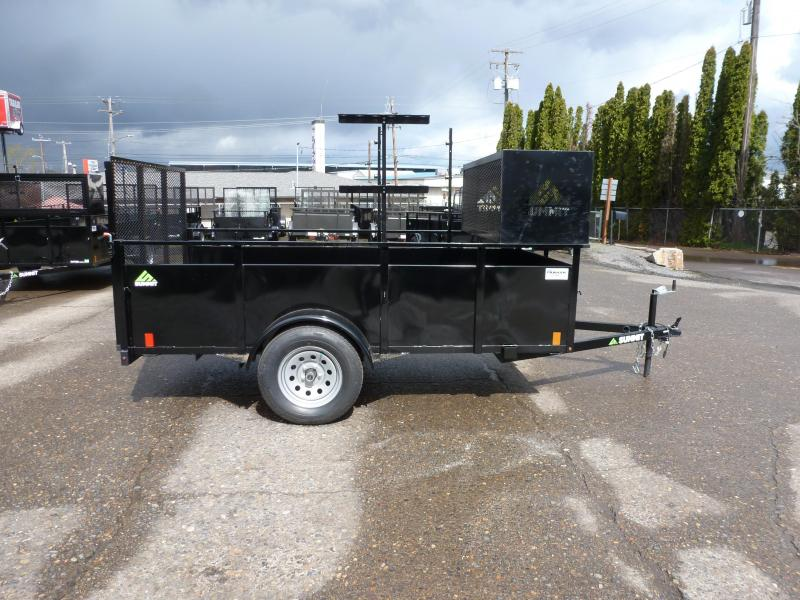 2020 Summit 5 X 10 3K ALPINE LANDSCAPE Utility Trailer