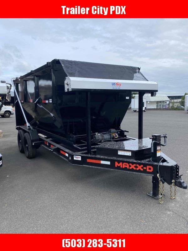 MAXXD - 14K Roll-Off  Dump Trailer-BIN NOT Included in price