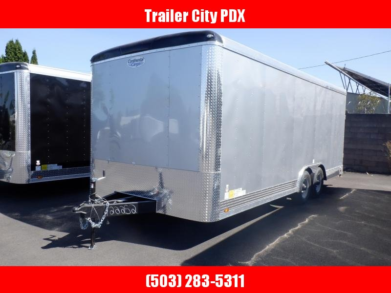 2020 Continental Cargo 8 X 20 10K RAMP DIAMOND ICE Enclosed Cargo Trailer