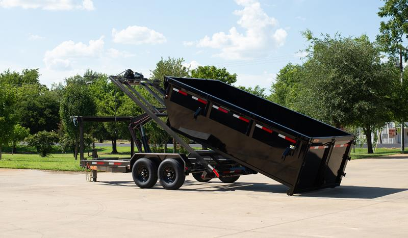 2021 MAXXD ROX - 14K Roll-Off Chassis and Bin Dump Trailer