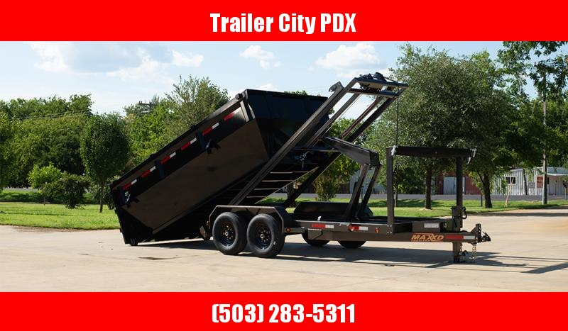 MAXXD ROX - 14K Roll-Off Chassis and Bin Dump Trailer