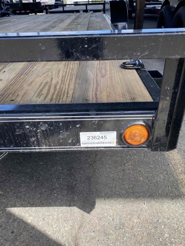 Load Trail Carhauler 83 x 20 Flatbed Trailer