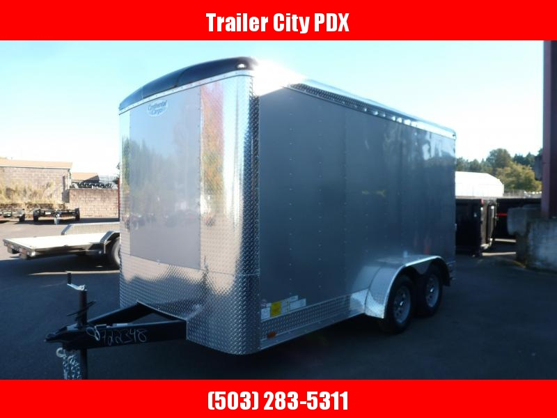 2021 Continental Cargo 7 X 14 7K RAMP DIAMOND ICE TALL Enclosed Cargo Trailer