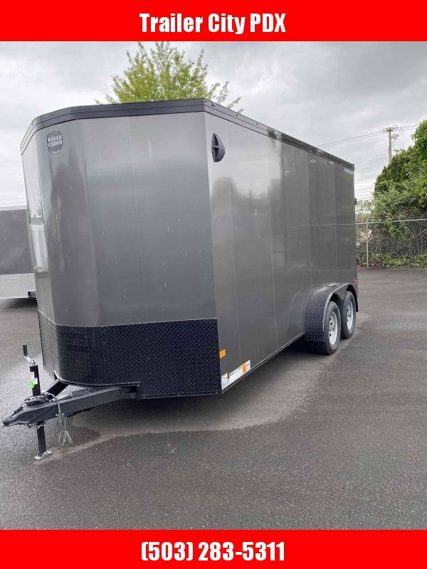 Wells Cargo RFV7X162 Enclosed Cargo Trailer