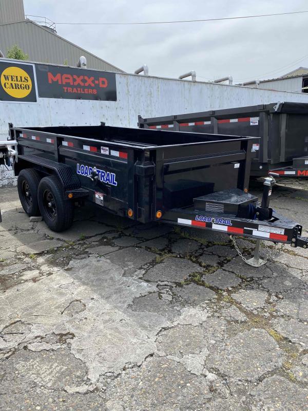 Load Trail 6 x 12 10K RAMPS Dump Trailer