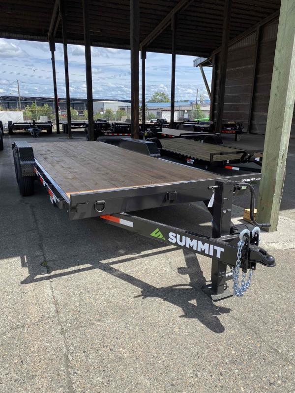Summit 7 X 20 14K DENALI PRO Flatbed Trailer