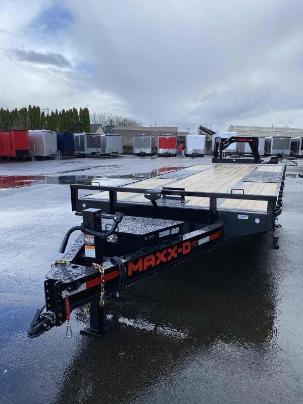 2021 MAXXD TOX - 14K Power Tilt Deckover Trailer Flatbed Trailer