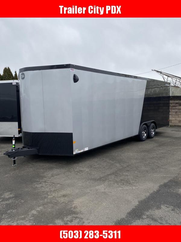 2021 Wells Cargo 8.5X 24 10K ROAD FORCE RAMP Enclosed Cargo Trailer