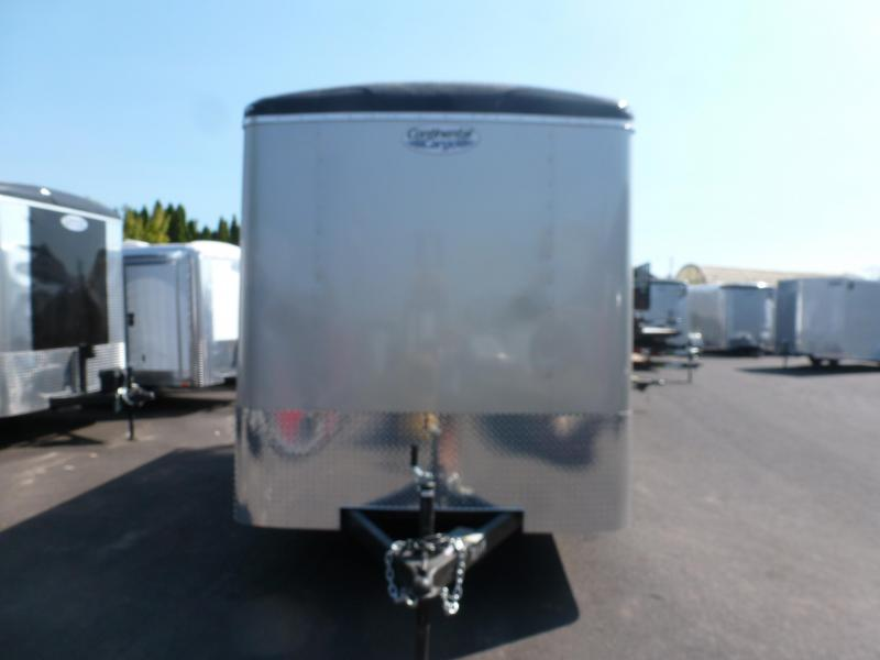 2021 Continental Cargo 7 X 14 7K TALL RAMP CHAMPAGNE BEIGE Enclosed Cargo Trailer