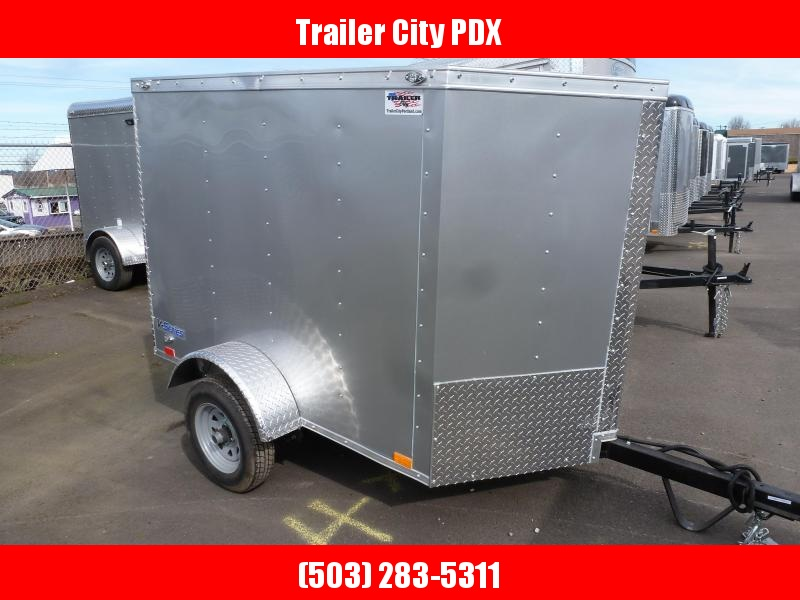 2021 Continental Cargo 4X6 V-SERIES DIAMOND ICE Enclosed Cargo Trailer
