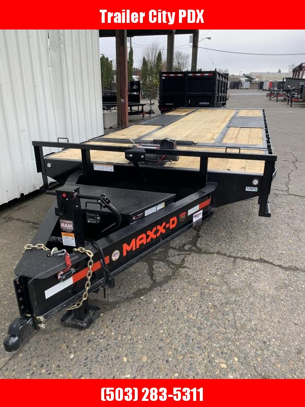 2021 MAXXD GOX - 16K Gravity Tilt Deckover Trailer Equipment Trailer