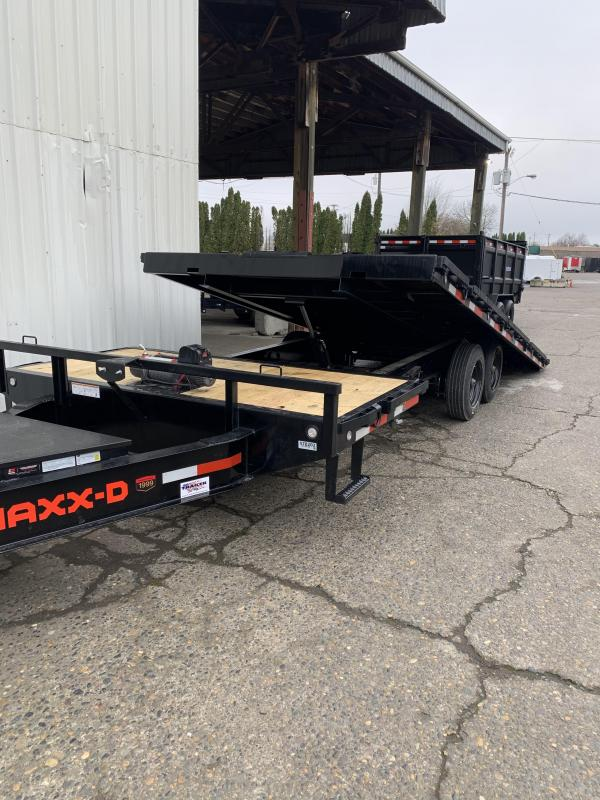 2021 MAXXD GOX - 16K Gravity Tilt Deckover Trailer Equipment Trailer