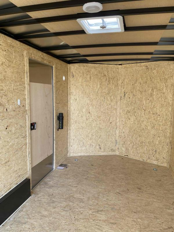 7.5 X 14 7K RAMP TWO TONED Enclosed Cargo Trailer