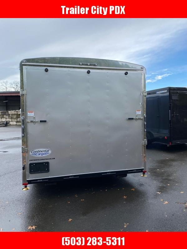 2021 Continental Cargo 8 X 24 10K RAMP TALL DIAMOND ICE CAR HAULER PACKA Enclosed Cargo Trailer
