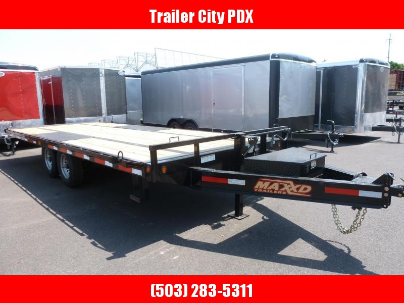2020 MAXXD TOX - 8.5 x 22 14K Power Tilt Deckover Trailer Equipment Trailer