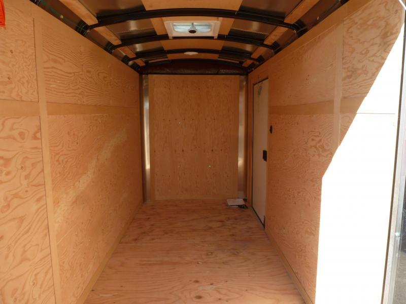 Continental Cargo 5X10 3K RAMP BLACK SUPER TALL Enclosed Cargo Trailer