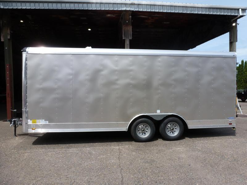 2020 Continental Cargo 8 X 20 10K CAR HAULER CHAMPAGNE BEIGE Enclosed Cargo Trailer