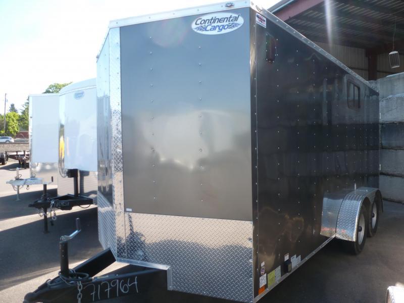2020 Continental Cargo 7 X 16 7K RAMP TALL V SERIES Enclosed Cargo Trailer