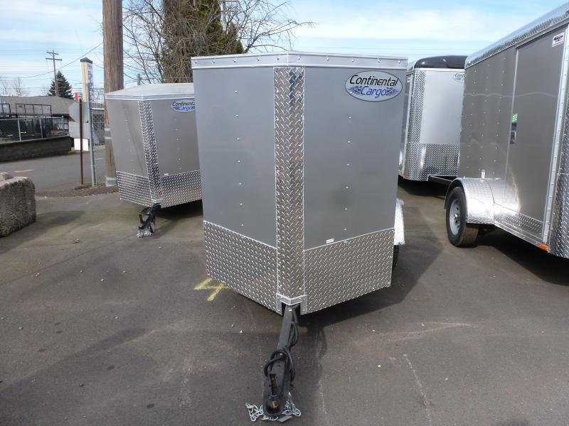 Continental Cargo 4 X 6 3K V-SERIES Enclosed Cargo Trailer