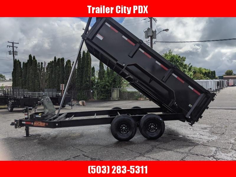 "2020 MAXXD DTX 14K 83""x14' w/ 3' Sides Telescoping Dump Trailer"