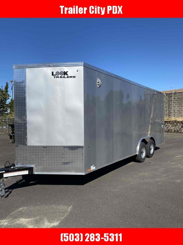 8.5 X 24 10K RAMP CARHAULER ENCLOSED TRAILER Enclosed Cargo Trailer