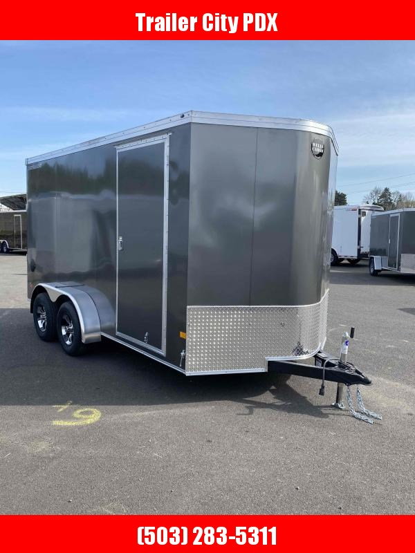 Wells Cargo RFV 7X14 7K RAMP CHARCOAL Enclosed Cargo Trailer