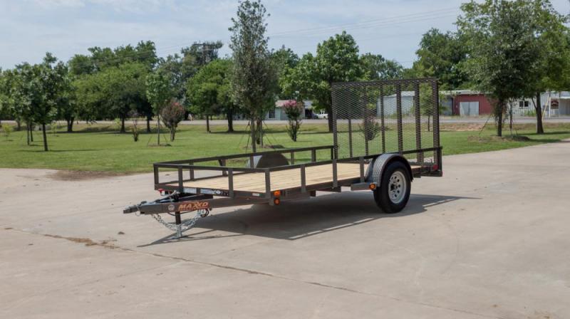MAXXD ATV UTILITY Angle Single Axle  Utility Trailer