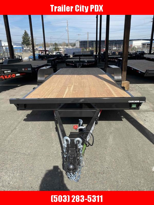 2021 Summit 7 X 20 10K TILT FLATBED Flatbed Trailer