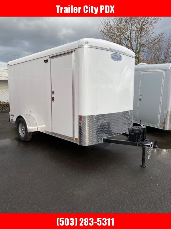 2021 Continental Cargo 6 X 12 3K TALL CARGO WHITE Enclosed Cargo Trailer