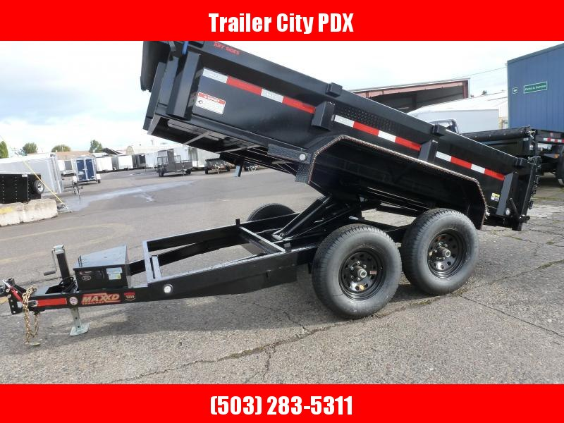 MAXXD 6 X 12 12K DUMP Dump Trailer