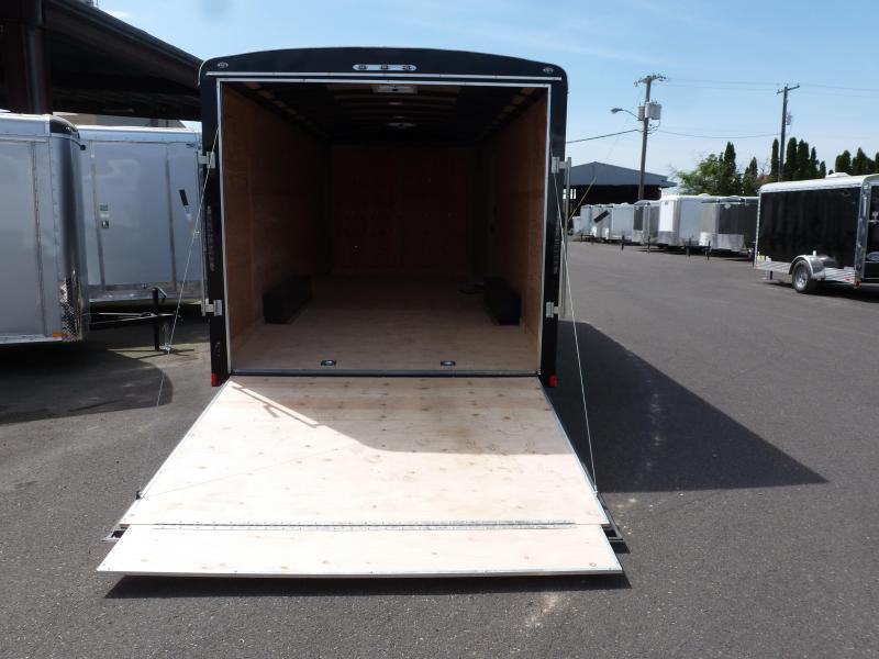 2020 Continental Cargo 8 X 20 10K RAMP CAR HAULER BLACK Enclosed Cargo Trailer