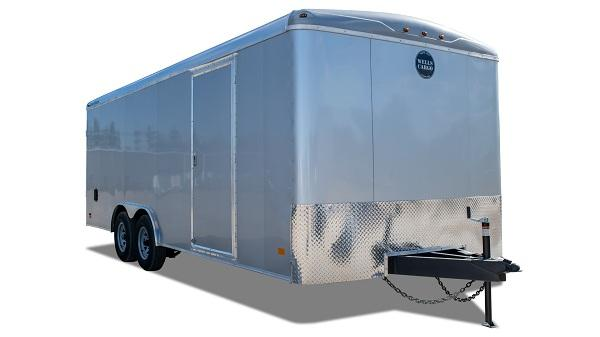 2021 Wells Cargo RF 8.5 X 20 7K RAMP SILVER FROST ROAD FORCE Enclosed Cargo Trailer