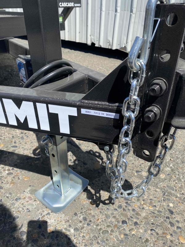 2021 Summit 7X12 3K PANTILT Equipment Trailer