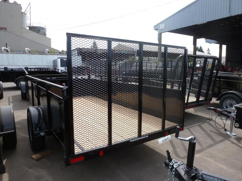 Summit 6 x 10 3k Alpine Utility - Ramp Door Utility Trailer
