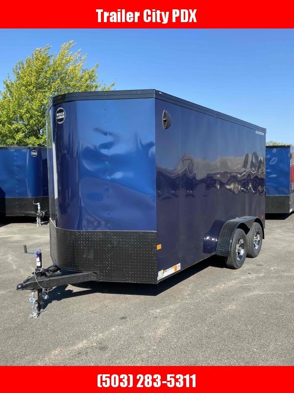 Wells Cargo 7 X 14 7K RAMP Enclosed Cargo Trailer