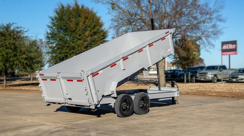 "MAXXD DTX 14K 83"" Telescoping Dump Trailer Dump Trailer"