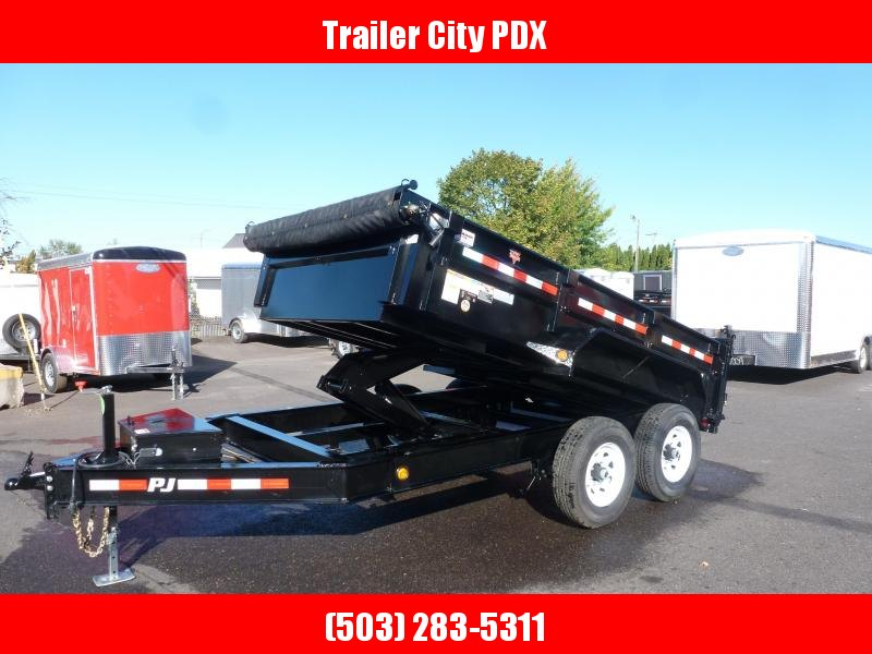 2020 PJ Trailers 7 X 12 14K Low Pro Dump (DL) Dump Trailer