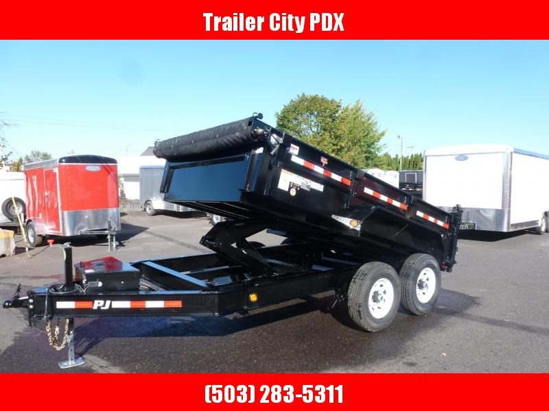 2020 PJ Trailers 7 X 12 14K Low Pro Dump (DL) Dump Trailer