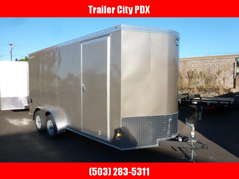 2021 Wells Cargo 7 X 16 ROAD FORCE PEWTER Enclosed Cargo Trailer